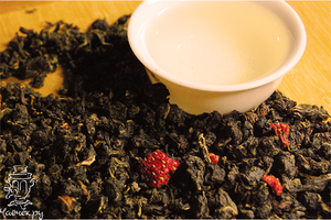 чай с земляникой