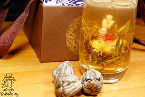 Набор связанного чая