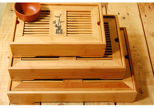 Чайный столик бамбук
