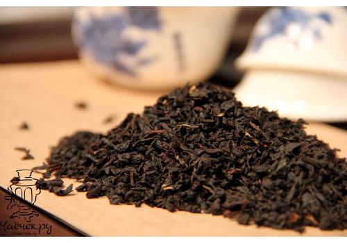 молочный черный чай