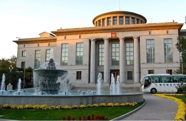 главное здание посольства